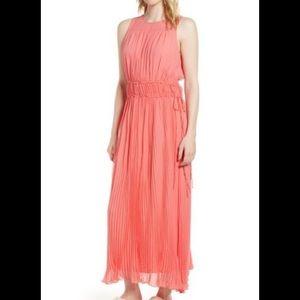 Gorgeous whimsical silk dress